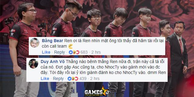 LMHT: YG toàn thua ngày chào sân CKTG 2017, fan chỉ trích Ren thậm tệ