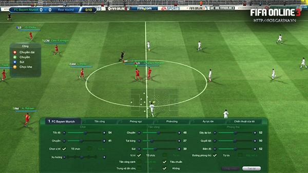 """'Bí kíp"""" lên TOP Xếp hạng Giả lập trong FIFA Online 3"""