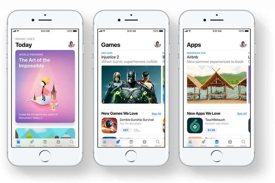 Apple tung ra hàng loạt video mới kỷ niệm App Store lột xác