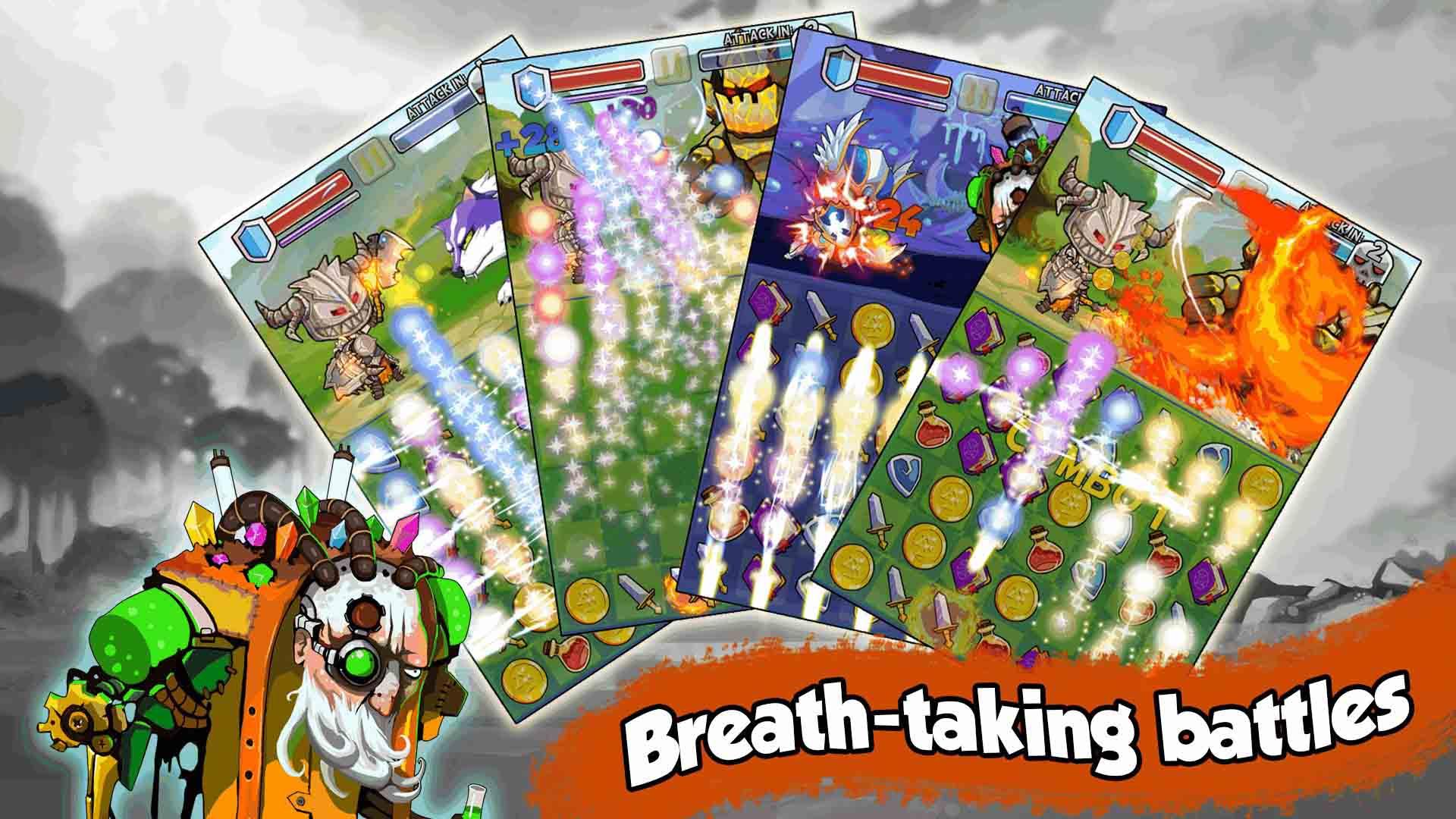 Game Việt Heroes of Puzzle Adventure ra mắt với lối chơi mới lạ