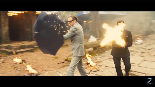 Chiếc ô thần thánh sẽ trở lại và lợi hại hơn trong Kingsman 2, một Youtuber đã thử chế tạo nó và kết quả thật bất ngờ
