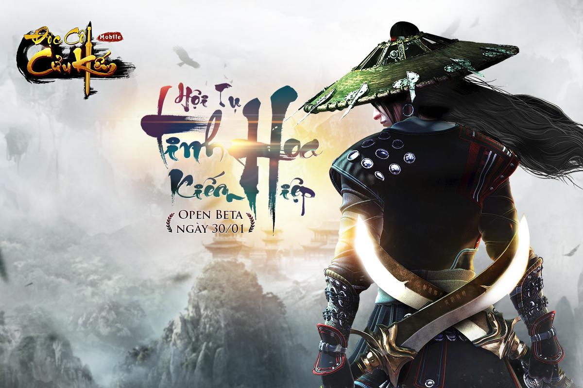 Độc Cô Cửu Kiếm Mobile ấn định ngày ra mắt, tặng Lăng Ba Vi Bộ cho game thủ    GameSao
