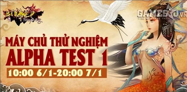 Bá Nghiệp Truyền Kỳ tiến hành Alpha Test Ngày 06/1