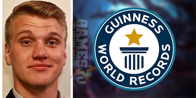 Streamer LMHT phá thành công Kỷ lục Guinness