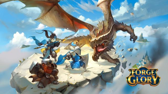 Forge of Glory - Thú vị tựa game hành động kết hợp giải đố cực hay