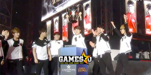 [LMHT] Hủy diệt KT 3-0, SKT lần thứ sáu vô địch LCK Hàn Quốc