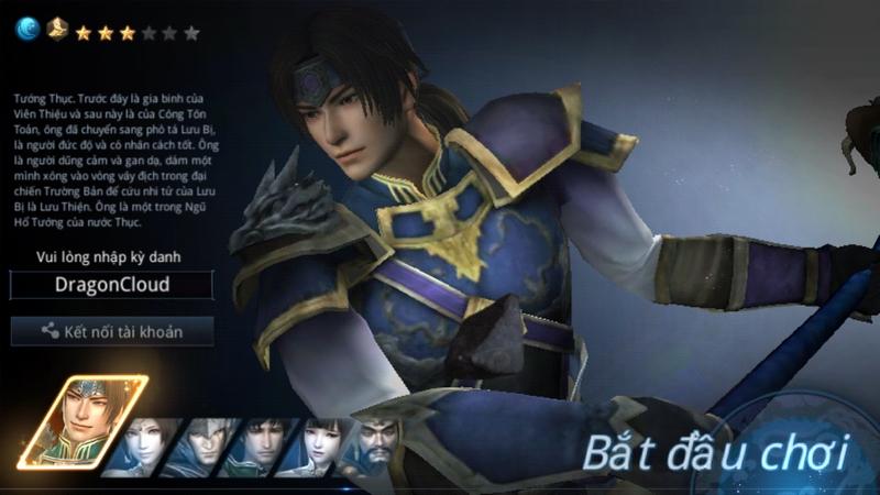 GameSao trải nghiệm Dynasty Warriors:Unleashed – Huyền thoại vẫn mãi là huyền thoại