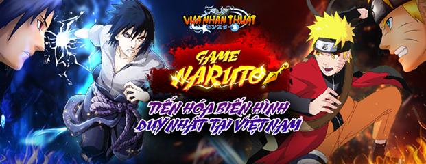 Vua Nhẫn Thuật - Tựa game Naruto tiến hóa biến hình đầu tiên đã về Việt Nam
