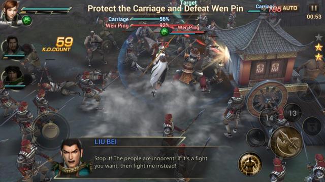 Dynasty Warriors Unleashed - gMO Tam Quốc siêu chuẩn đã được Nexon phát hành