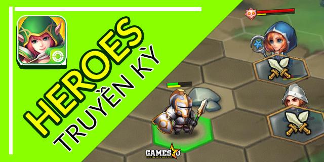 Trải nghiệm nhanh Heroes Truyền Kỳ: Bản thu gọn của Heroes 3