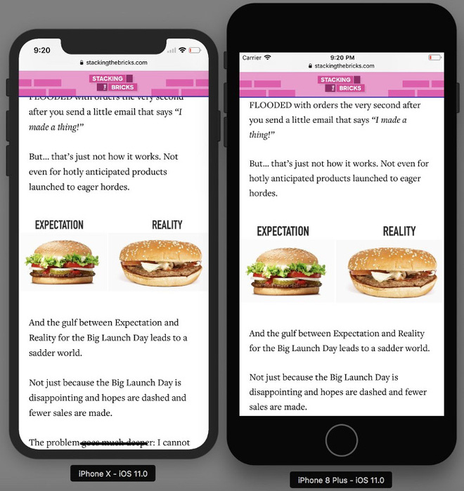 So sánh giao diện giữa iPhone X và iPhone 8 - Được gì và mất gì với chỗ khuyết trên màn hình