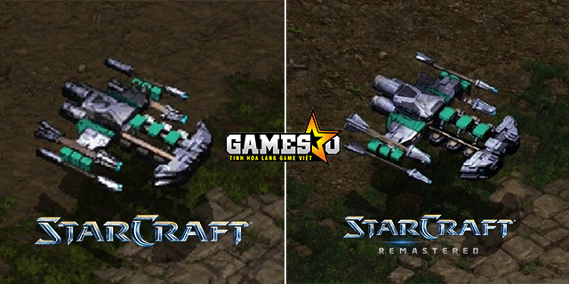 So sánh hình ảnh của hai phiên bản StarCraft gốc vs Remastered