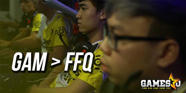 [LMHT] GAM đánh bại FFQ 2-0 sau chưa đầy một giờ đồng hồ