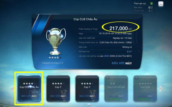 FIFA Online 3: Cập nhật Team Color mới, Cup mới trong bản ROSTER UPDATE