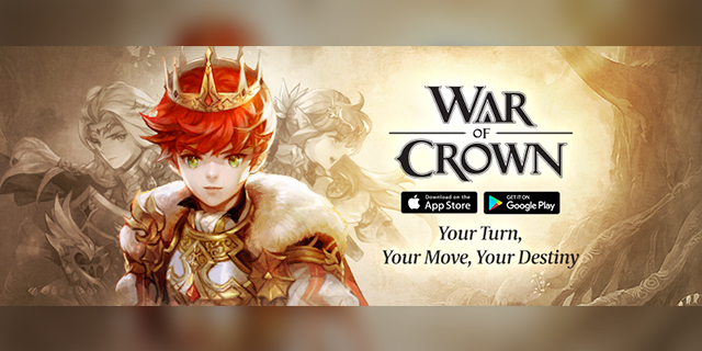 gMO chiến thuật cực đỉnh War of Crown đã chính thức ra mắt toàn cầu