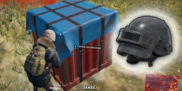 PUBG: Mũ Level 3 chỉ còn trong thùng cứu trợ, không còn vũ khí mạnh nhất