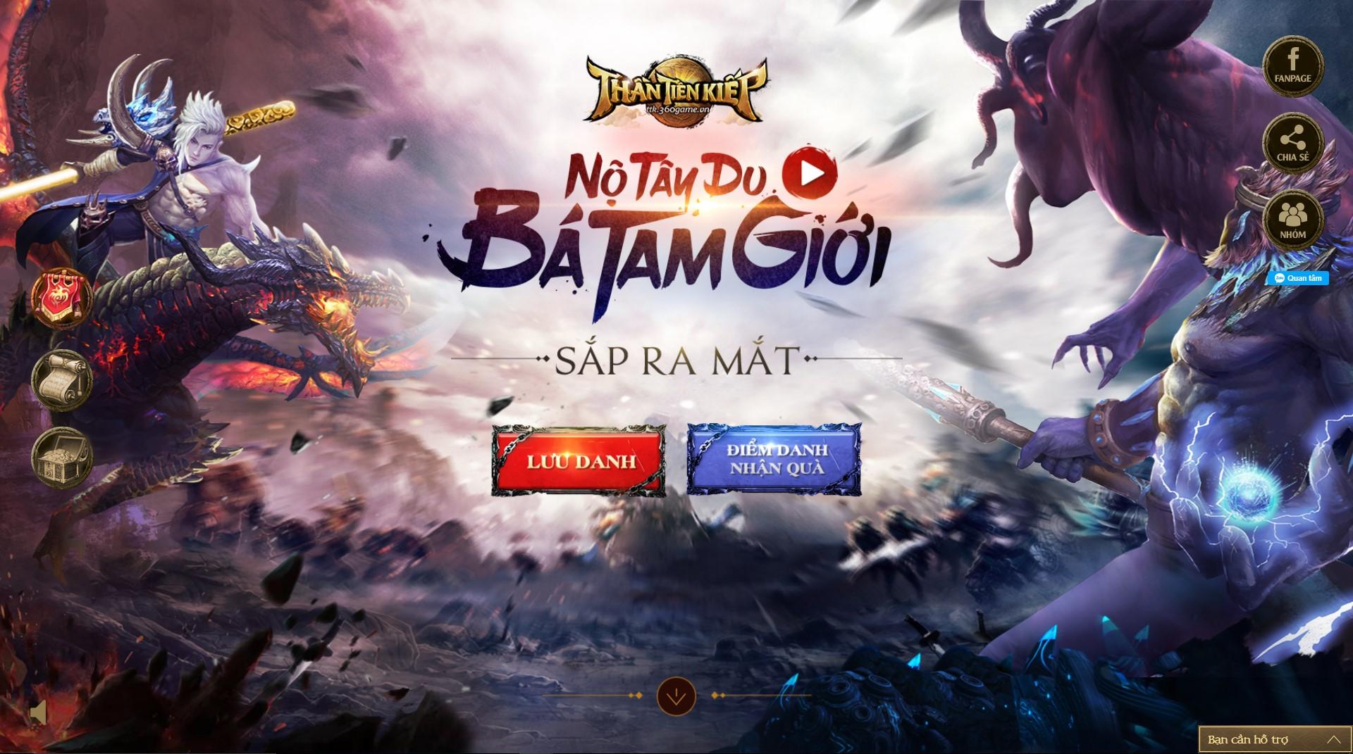 Thần Tiên Kiếp ra mắt landing page, lưu danh nhận code, điểm danh nhận quà  VIP | GameSao