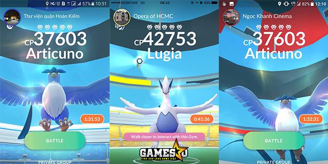 Người chơi Pokemon GO Việt Nam 'hò nhau' đi bắt Pokemon Huyền Thoại