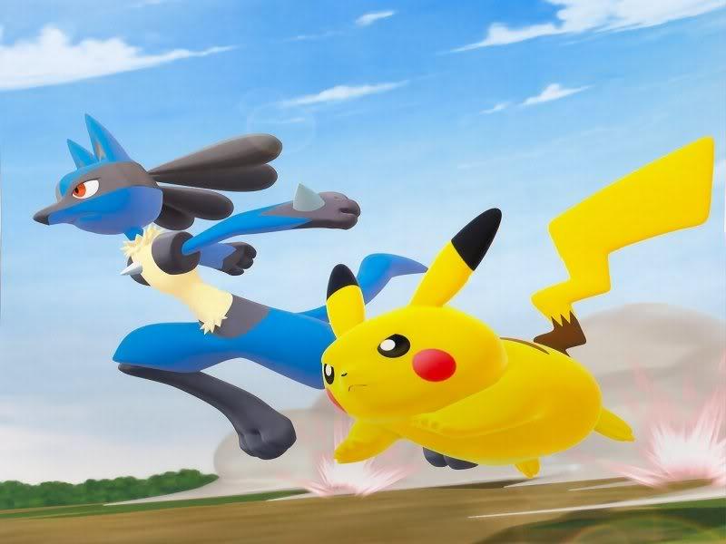 Pokken Tournament: Pikachu đại chiến Lucario