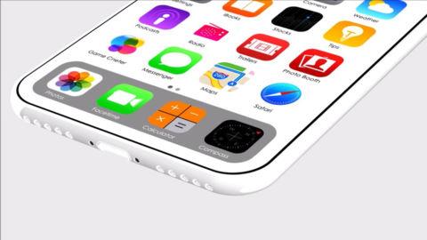 Bản thiết kế iPhone 8 màu trắng giống iPhone 5C