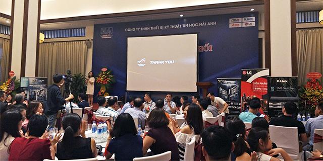 ASUS Việt Nam giới thiệu nhà phân phối Mainboard mới tại miền Bắc