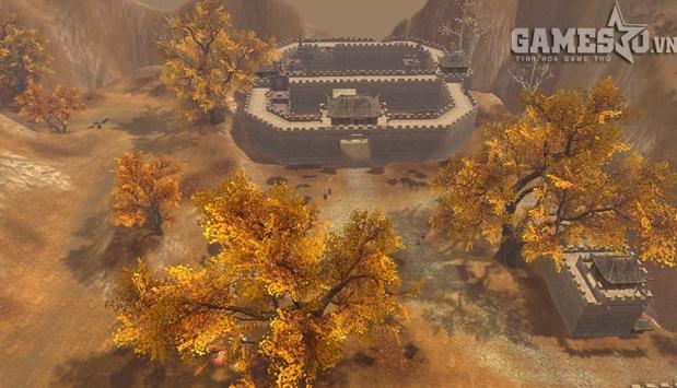 Cận cảnh Nhạn Môn Quan huyền thoại ở Tân Thiên Long 3D