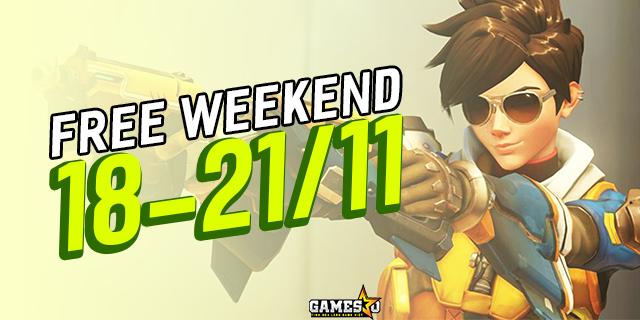 Overwatch tiếp tục cho chơi miễn phí vào tuần sau (18-21/11)