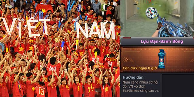 CF Legends đồng hành cùng đội tuyển bóng đá nam Việt Nam tại SEA Games 29
