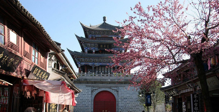 Thành Đại Lý, núi Thiên Sơn trong Tân Thiên Long 3D