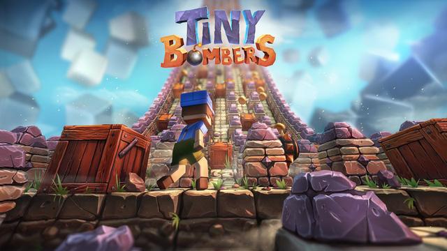 Tiny Bombers - Tựa game pha trộn lối chơi của Bomberman và Crossy Road