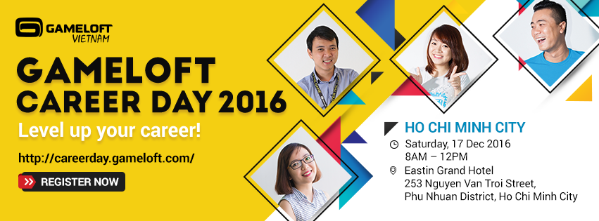Gameloft Career Day 2016 - Cái nhìn tổng quan về nền công nghiệp game tại Việt Nam
