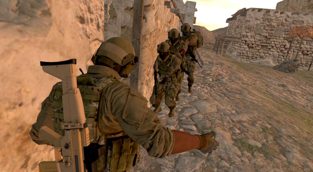 Trở thành biệt đội lính đặc nhiệm Mỹ trong game quân đội Onward