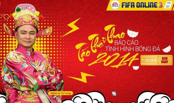 FIFA Online3 - 'Bá đạo' Táo Thể Thao báo cáo tình hình bóng đá 2014