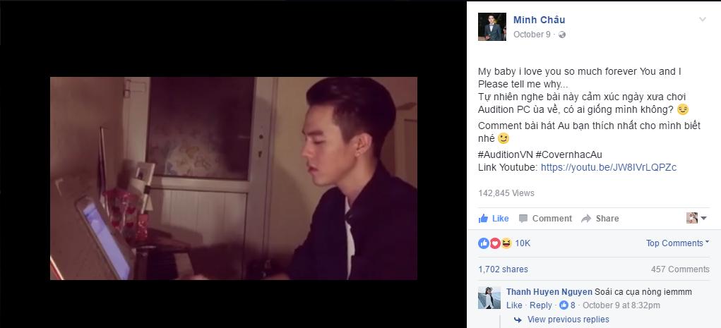 Hot boy, hot girl Việt gây sốt với trào lưu cover nhạc Audition