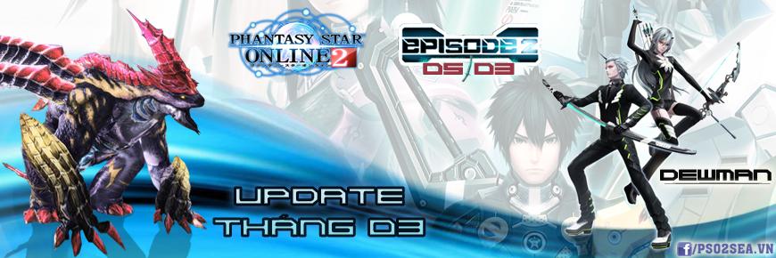Phantasy Star Online 2 cập nhật phiên bản episode 2 vào ngày 05/03