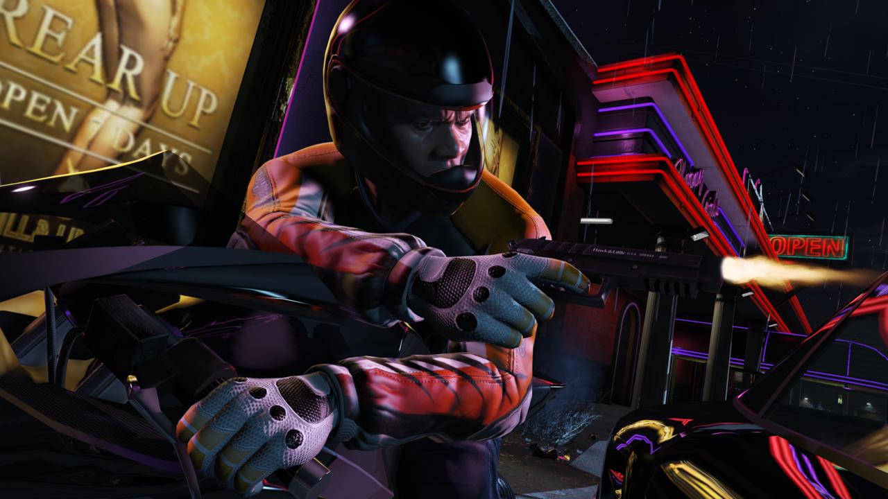 GTA V PC hé lộ hình ảnh cực đẹp trước ngày ra mắt