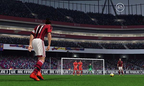 Ibra '11 -  ST hoàn hảo cho gamer yêu thích xây dựng team AC Milan