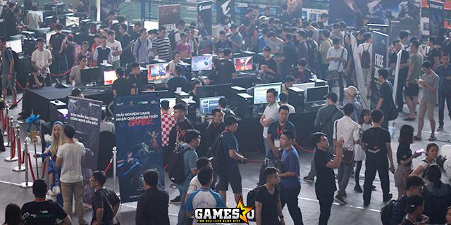 Đấu Trường Máy Tính thu hút hàng ngàn game thủ Hà Nội