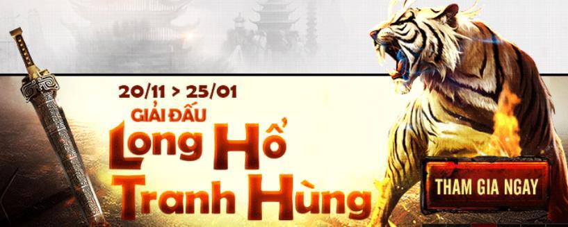 Long Hổ Tranh Hùng gây 'choáng váng' cho game thủ 9K Truyền Kỳ