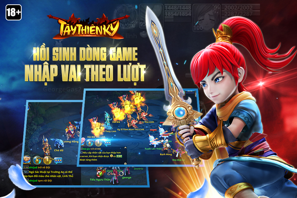 Tây Thiên Ký sẽ chính thức chào hàng làng game Việt từ 21 tháng 12