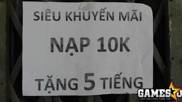Choáng với quán net ở Khánh Hòa chơi khô máu với giá 10k chơi 5 tiếng