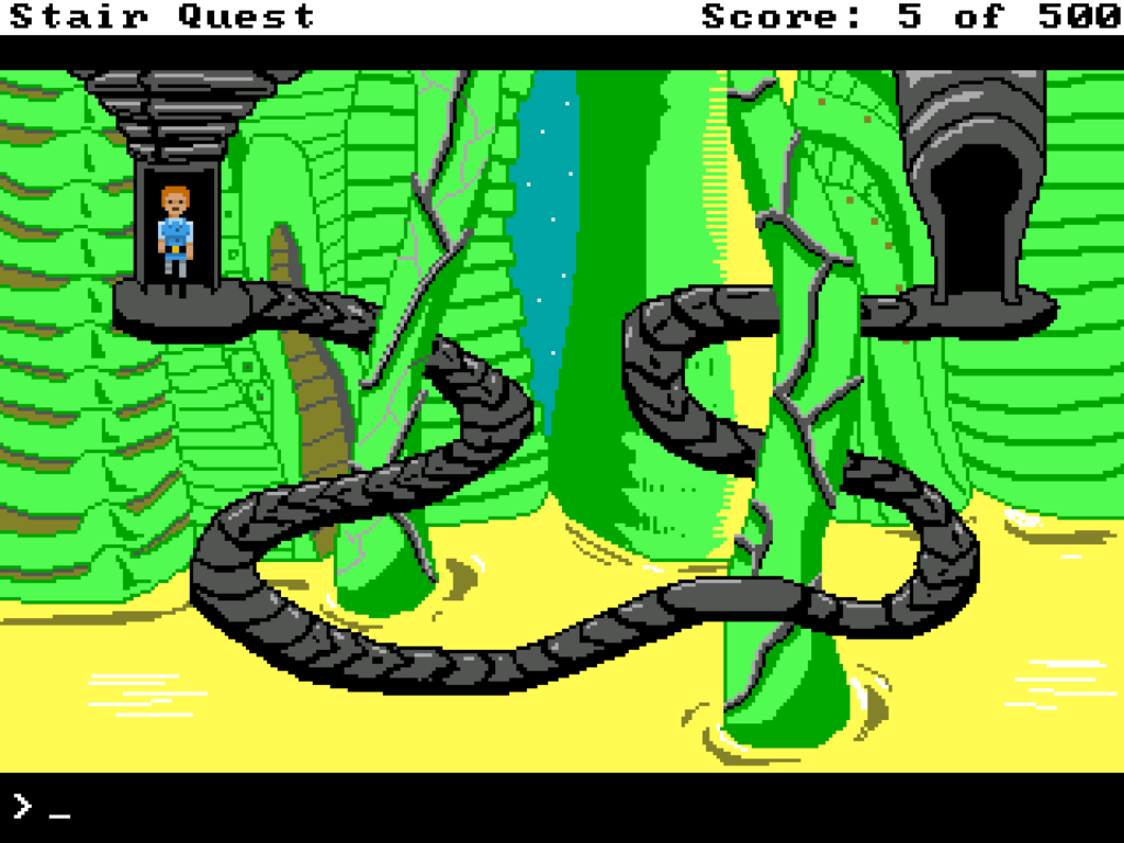 Gần 1 phút trải nghiệm tựa game đầy ám ảnh Stair Quest