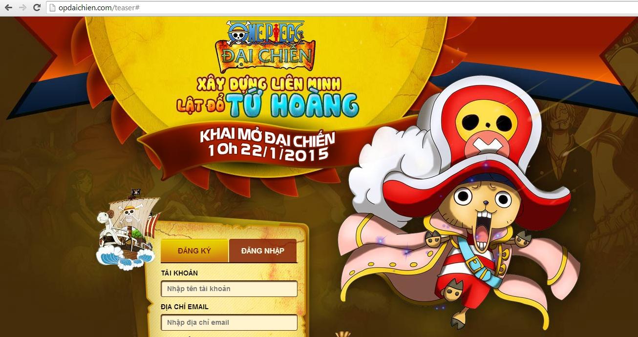 Một game One Piece mới sắp xuất hiện tại Việt Nam?