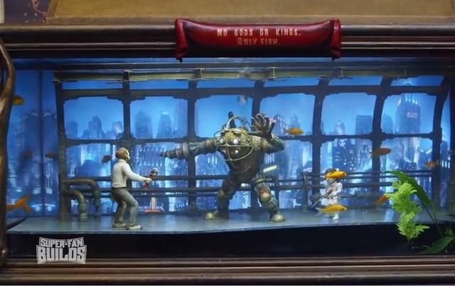 Bể cá siêu chất theo phong cách Bioshock