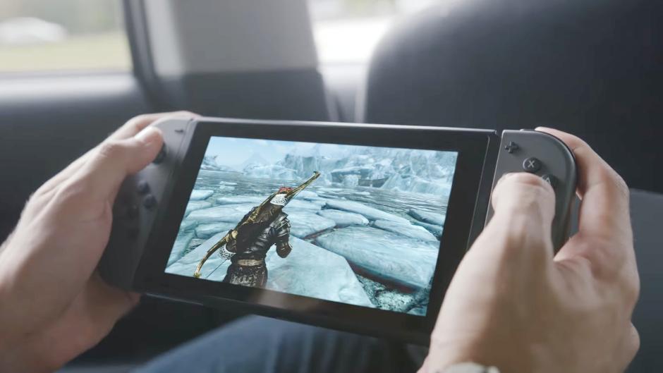 Nintendo Switch có màn hình độ phân giải HD, hỗ trợ cảm ứng đa điểm