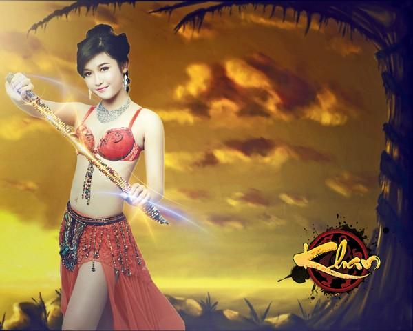 Chi Pu, Angela Phương Trinh, Andrea và Huyền My sẽ trở thành cosplayer cho gMO Chiến Linh?