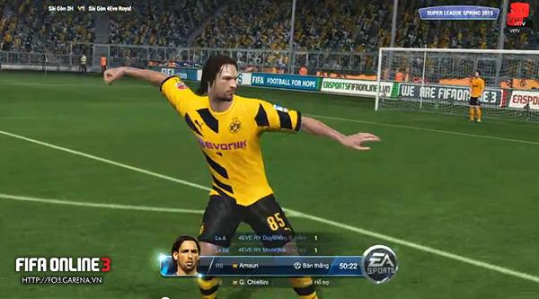FIFA Online 3: Tổng kết vòng 8 Super League 2015