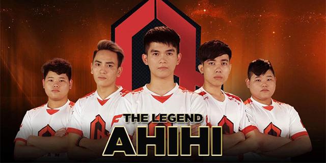 Ahihi Team thống trị mùa giải đầu tiên của CF Legends Việt Nam