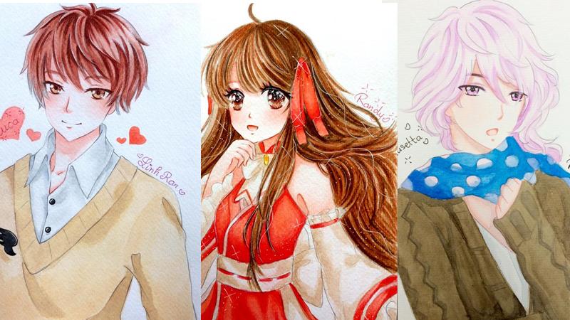 Nhật Ký Tình Yêu không chỉ là game mà còn ẩn giấu một thế giới hội họa