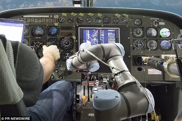 Robot có khả năng lái máy bay